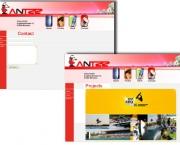 Online-Auftritt Antzz GmbH