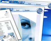 Energie & Kommunikation CI/CD-Geschaeftsaustattung
