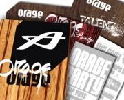 Orage/Coalision Werbemittel
